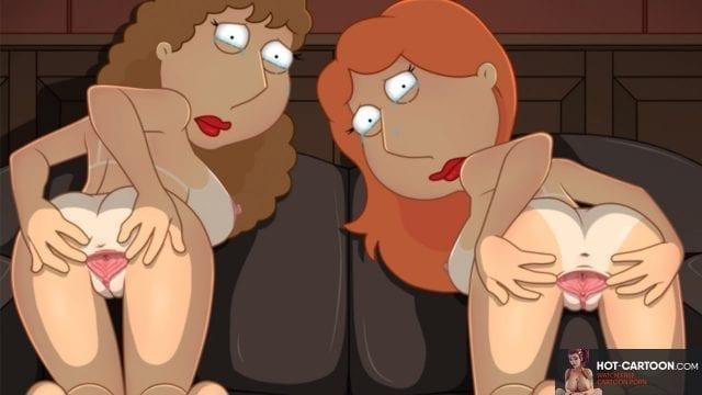 Family Guy Lesbian Lois and Meg