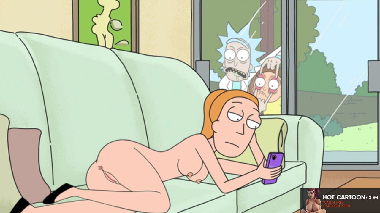 rick and morty jerry and summer sex comic