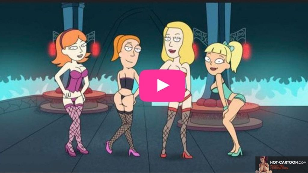 Rick and Morty Porn Summer and Jessica Hardcore Video