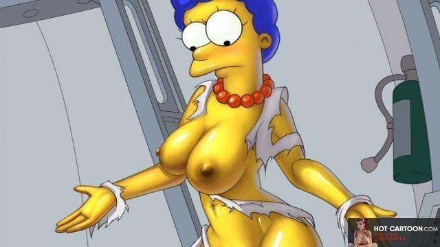 Marge Simpson Porn Cartoon