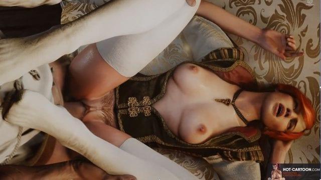 Witcher Triss comic porn sexy babe comic xxx