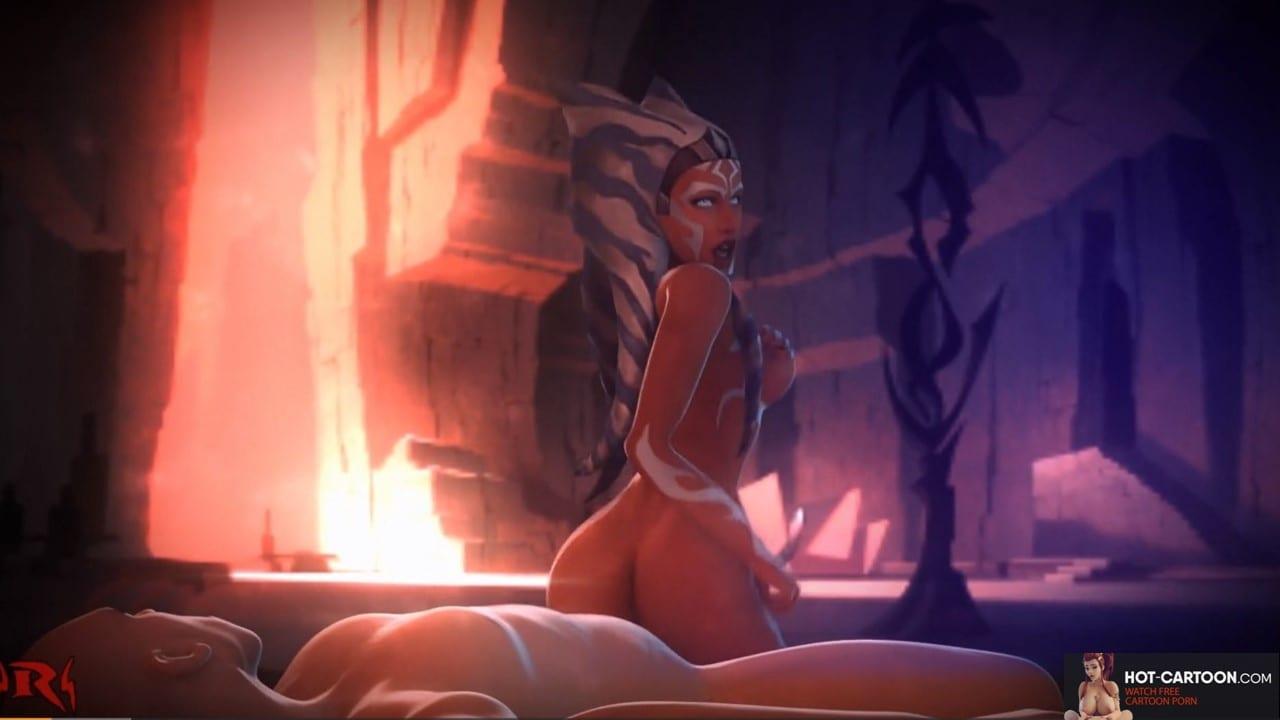 star wars ahsoka porn