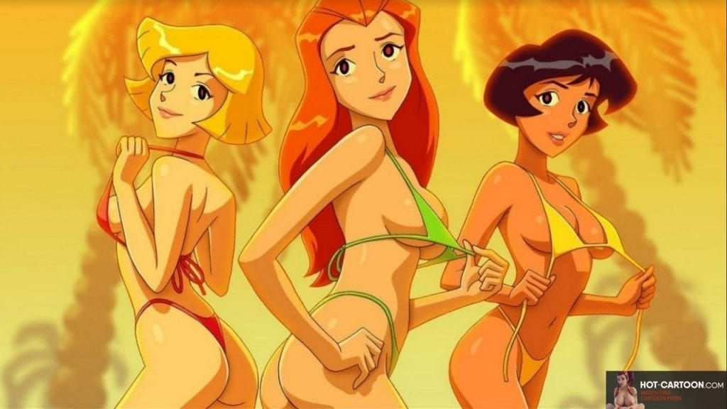 totally spies comic porn lesbian