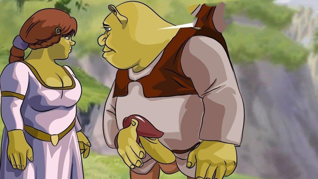Shrek and fiona porn